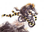 Hyena Crossing