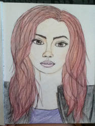 Lily Collins as Clary Fray by Poke-Otaku7
