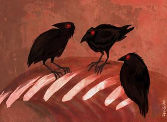 Three Little Birds by DukeOGlue
