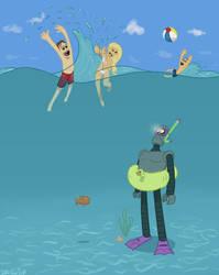 Robots Can't Swim by DukeOGlue