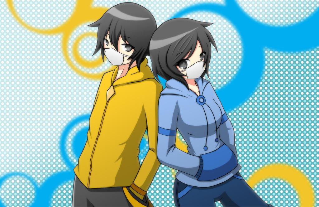 Aishi and Yunawa by yukisasara