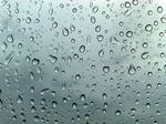 Raindrops on London Eye