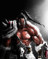 Grommash Hellscream by DoomGuy26