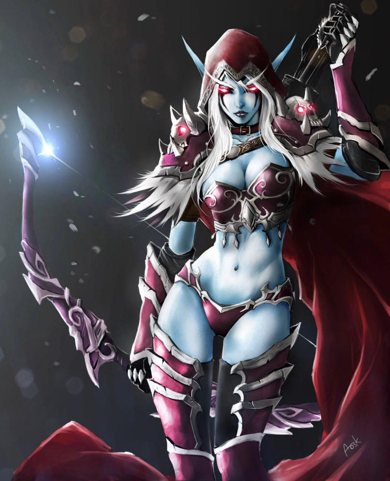 Sylvanas windrunner bj hentia animated girls