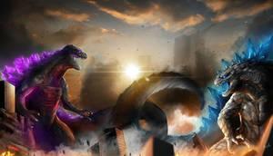 Battle of Godzilla