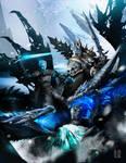 Lich king vs Night king by DoomGuy26