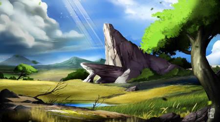 Pride Rock by DoomGuy26