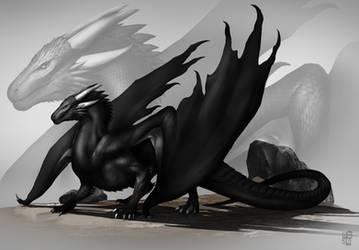 Black Dragon by DoomGuy26