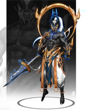 Thunder guardian by DoomGuy26