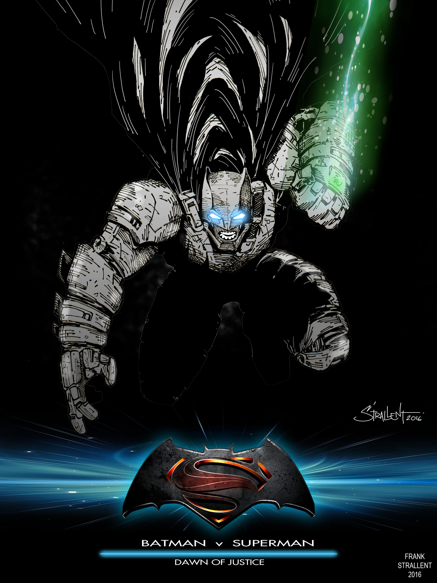 Batman v Superman: Dawn of Justice / TALENTHOUSE by STRALLENT on ...