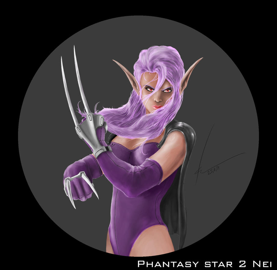 Phantasy star-2  Nei by rogalik7k
