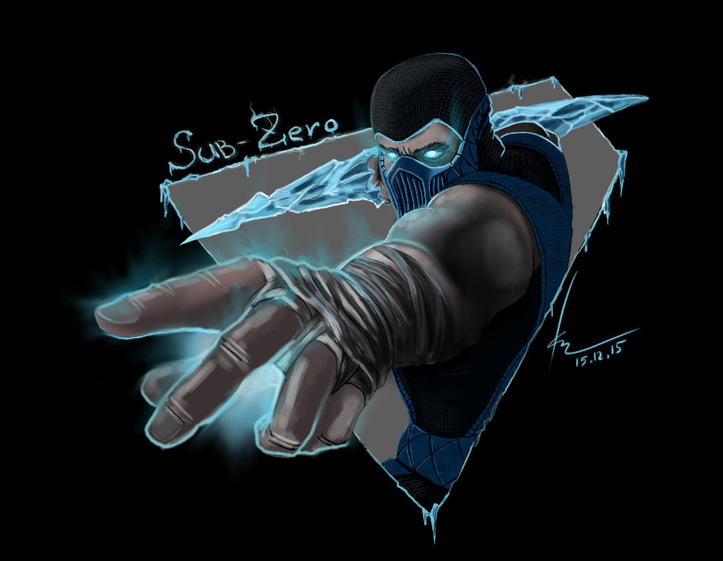 Sub-Zero fan art by rogalik7k
