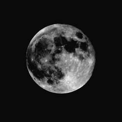 Full Moon by Crannogphotographic