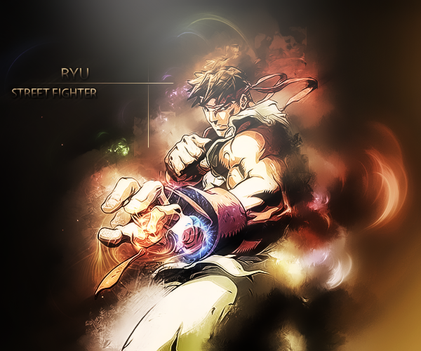 Stock  Ryu Street Fighter Ryu_street_fighter_stock_by_s_akat3020-d7aenbg