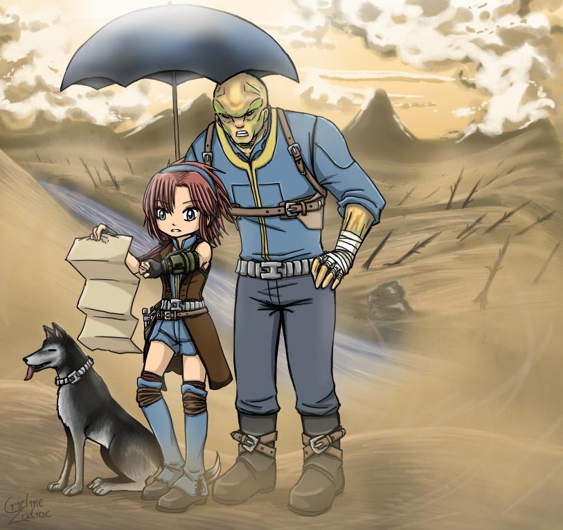 Fallout 3 Fan Art: FALLOUT 3 By CrielineZodiac On DeviantArt