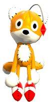 Tails Doll Render