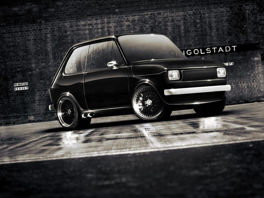 virtual tuning fiat 126 by yourfail on deviantart. Black Bedroom Furniture Sets. Home Design Ideas