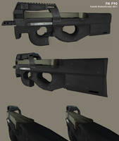 FN P90 by t17dr