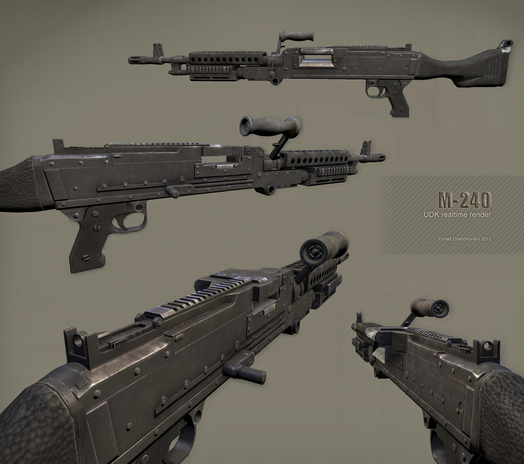 M-240 by t17dr
