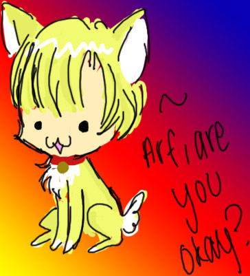 And the winner of the FanArt Challenge is..... Arf__by_K_A_R_I_DoLL
