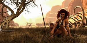 Primeval Huntress
