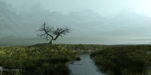 Hyborian Plains: Morning by Magnus-Strindboem