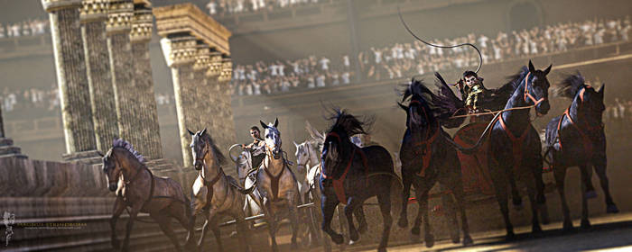 To the Death: Chariot Race in the Circus Maximus