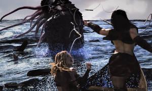 Witchwinter: Monster Bait. by Magnus-Strindboem
