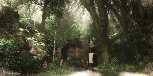 Witchwinter: Pilgrims Road by Magnus-Strindboem