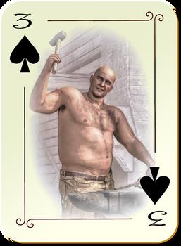 Murderin' Angels: 3 of Spades
