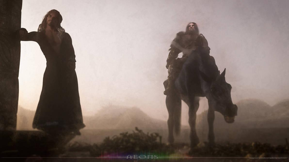 Aeons: Foreshadow - Harvester by Magnus-Strindboem