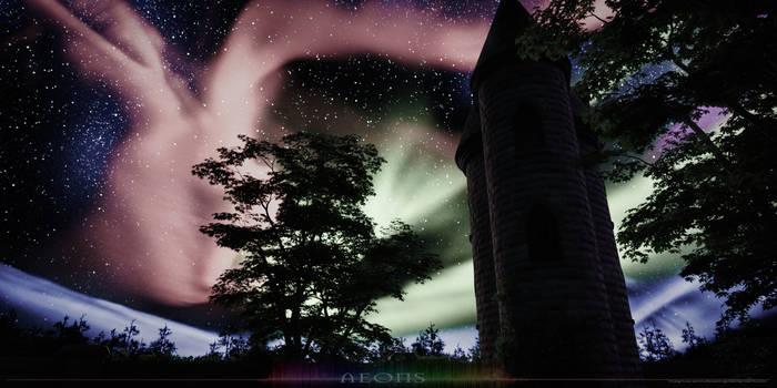 Aurora Borealis: Logo Keyframe