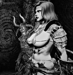 Skyrim: Draugr Queen and Warlord.