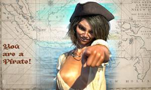 Pirate: You're a pirate! Full size