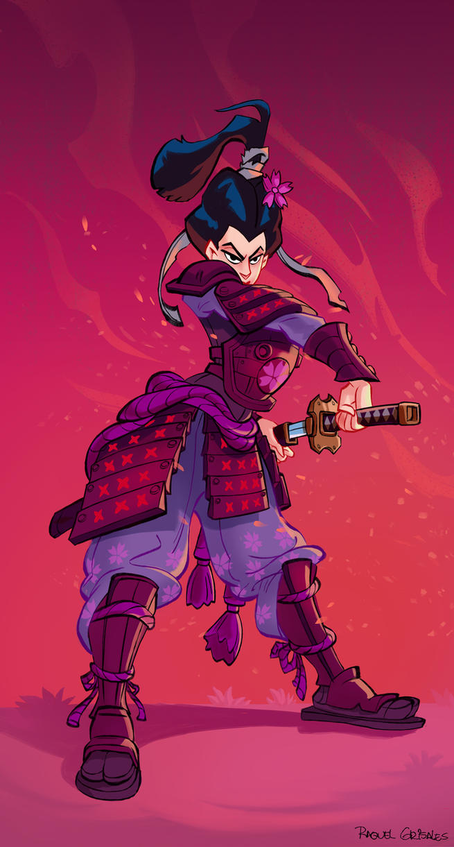 SamuraiGeisha by cLoVeRsKuLL