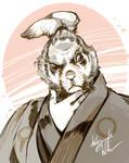fast-sketch: Usagi Yojimbo