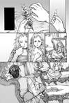 Claudia's Story -greyscale page