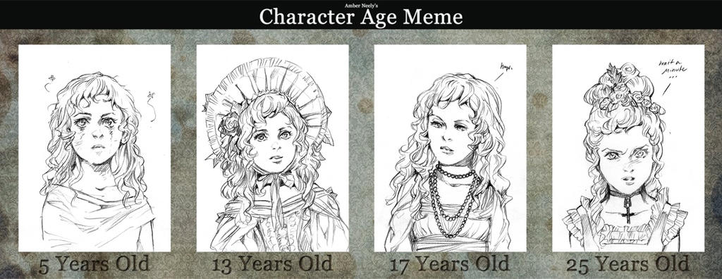 Age Meme: Claudia (Interview with the Vampire)