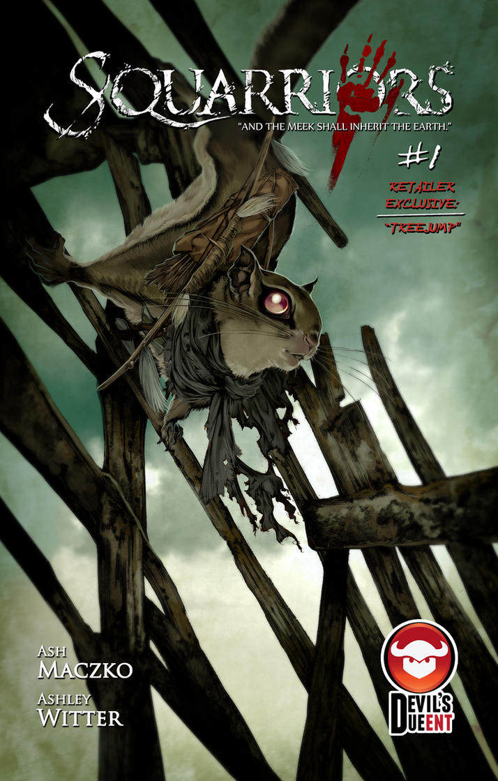 Squarriors Issue 1 Retailer Exclusive: TreeJump by WittA