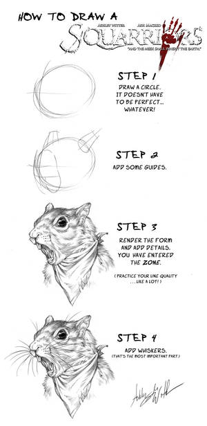 How to draw a Squarriors