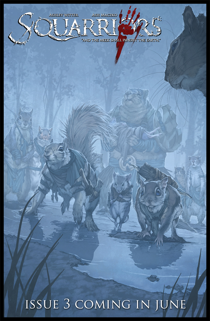 Squarriors Issue 3 preview by WittA