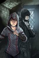 Assassin's Creed #1 Diamond UK Variant by WittA