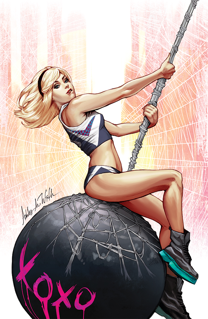 Spider-Gwen Wrecking Ball by WittA