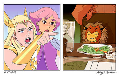 She-Ra: Woman Yelling At Cat Meme