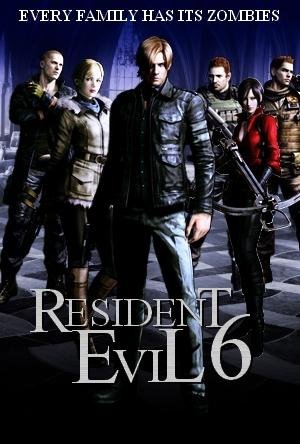 Resident Evil 6 Dark Shadows Cover By Ryuk124 On Deviantart
