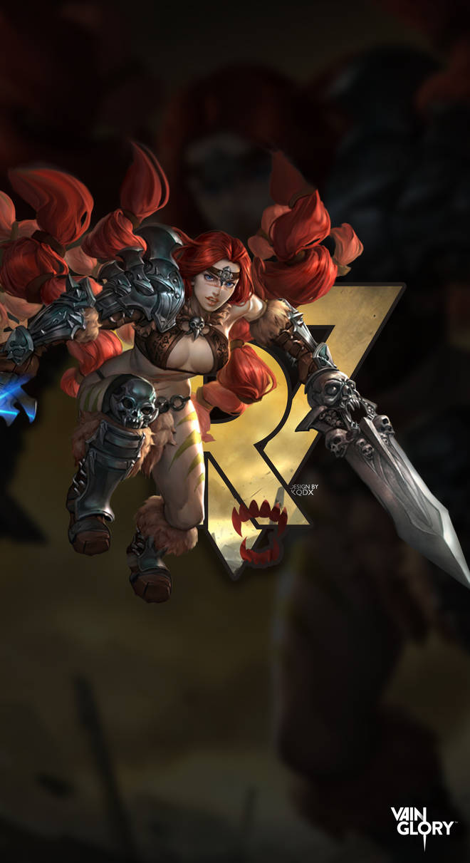 Rona Red Wallpaper by KodryKQDX ...