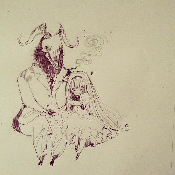 Daddy's fur by Loputyn