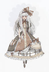 Tawdry Dress xD by Loputyn