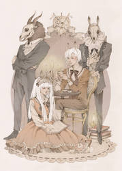 Family portrait by Loputyn