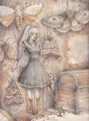 Moth by Loputyn